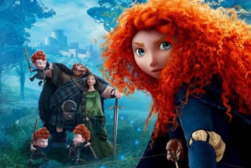 """""""Valente"""" é a primeira animação da Pixar a trazer uma heroína no papel principal"""